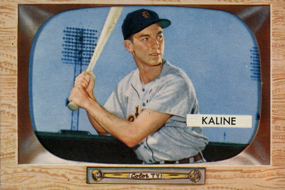 The Flaky Al Kaline Baseball Card That Made The Tigers