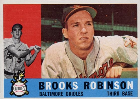 1960 Topps Brooks Robinson