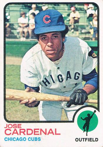 1973 Topps Jose Cardenal