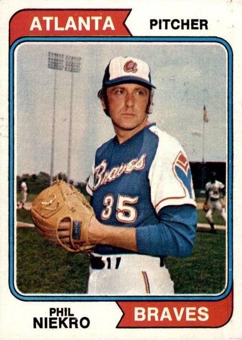 1974 Topps Phil Niekro