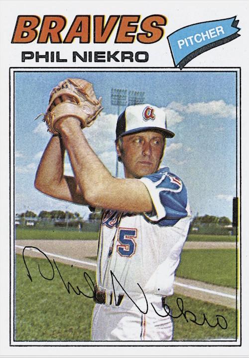 1977 Topps Phil Niekro