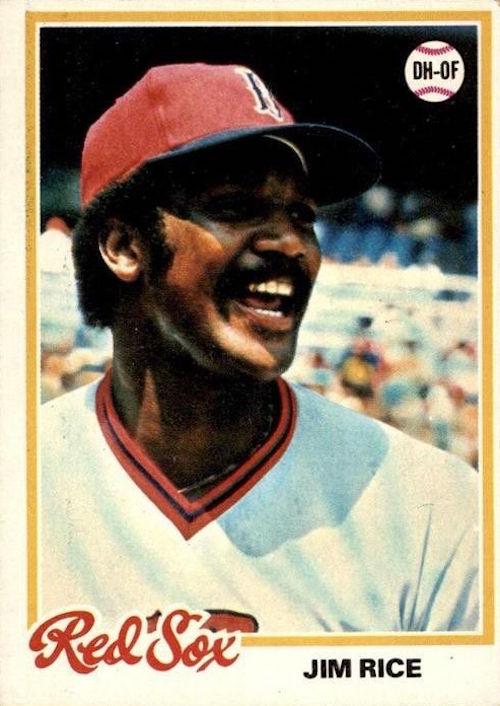 1978 Topps Jim Rice