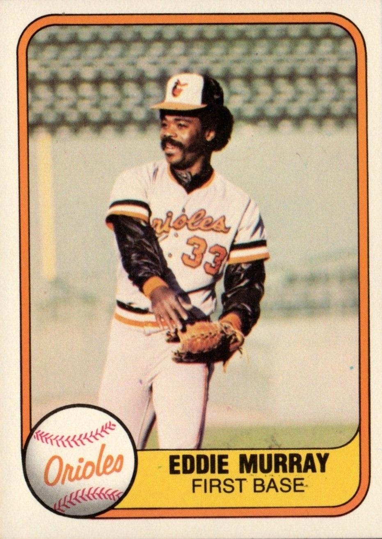 1981 Fleer Eddie Murray