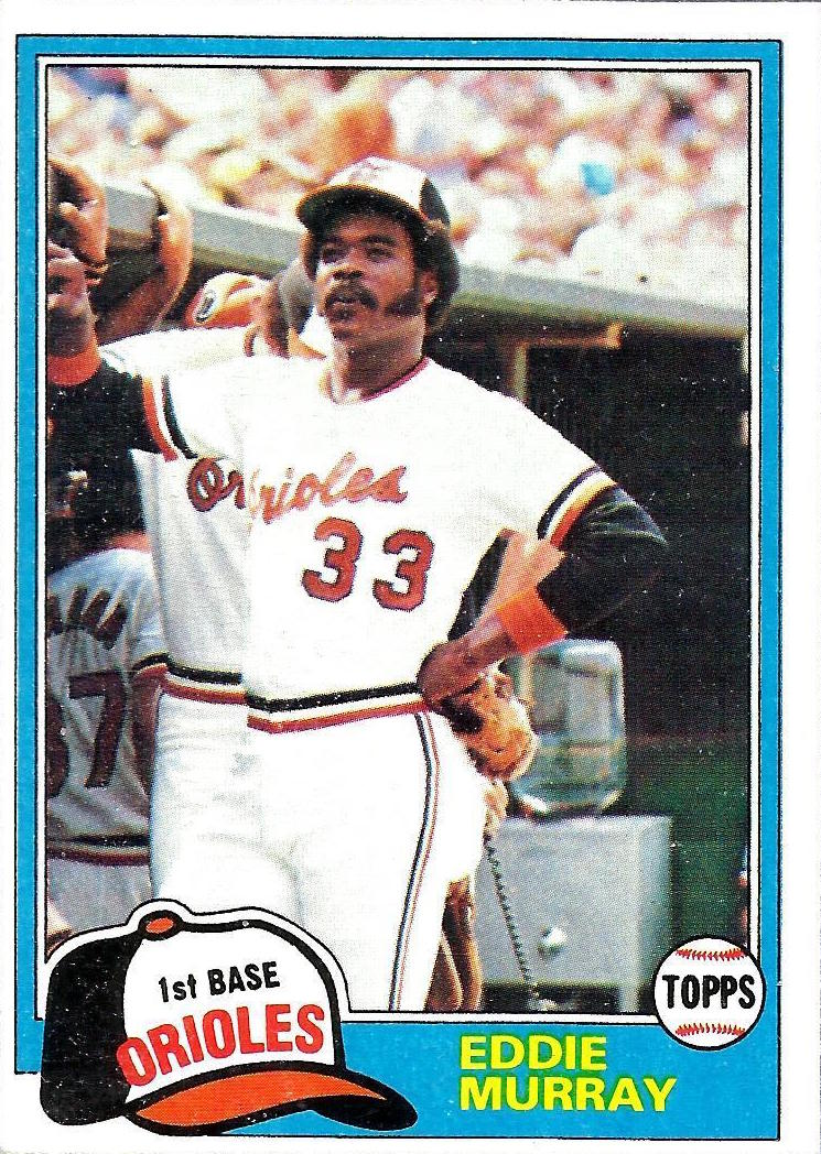 You Can Tell This Eddie Murray Baseball Card Is Fake
