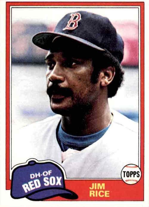 1981 Topps Jim Rice
