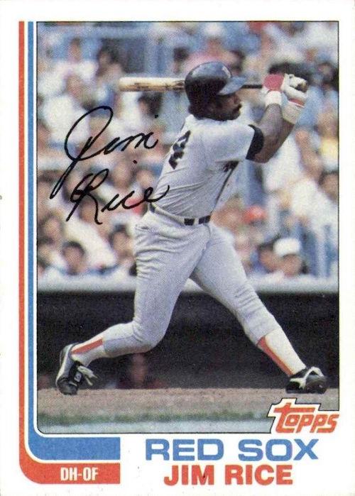 1982 Topps Jim Rice