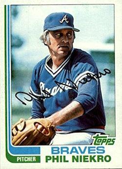 1982 Topps Phil Niekro