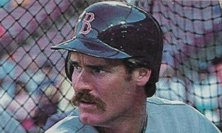 Step Into Wade Boggs' Office with this Classic Baseball Card