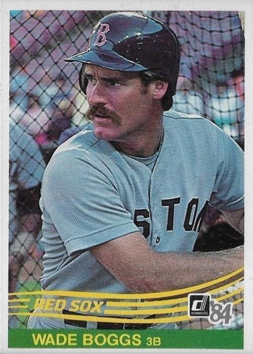 1984 Donruss Wade Boggs