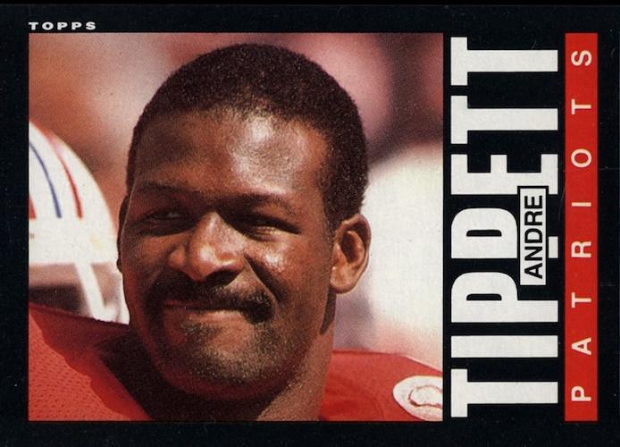 1985 Topps Andre Tippett
