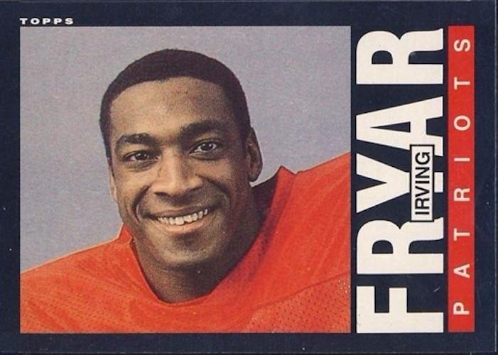 1985 Topps Irving Fryar