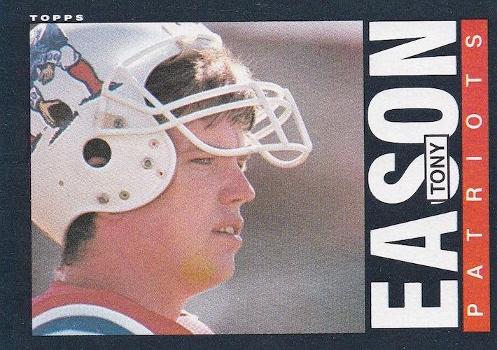 1985 Topps Tony Eason