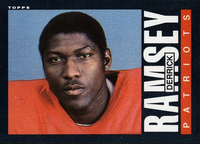 1985 topps Derrick Ramsey