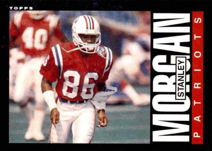 1985 topps Stanley Morgan