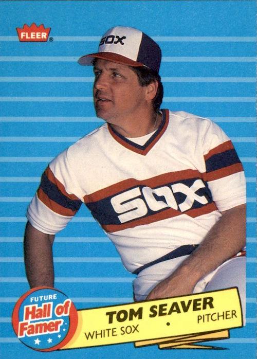 1986 Fleer Future Hall of Famer Tom Seaver