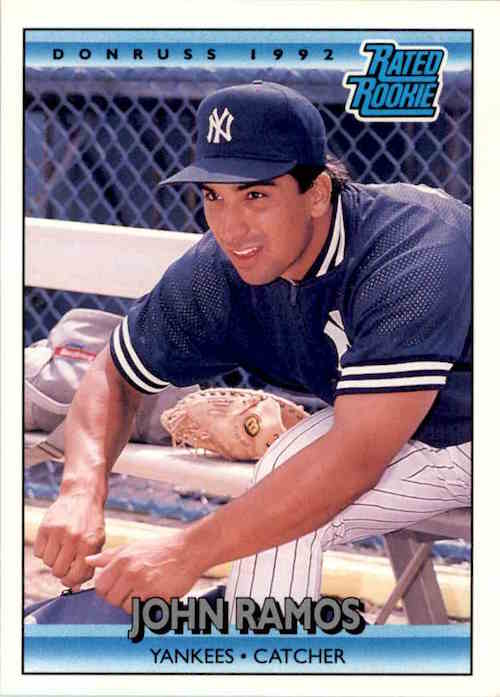 1992 Donruss Rated Rookies John Ramos