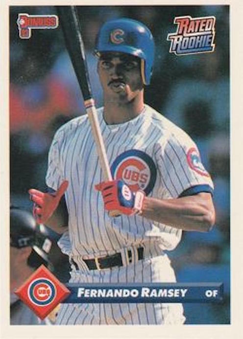 1993 Donruss Rated Rookies Fernando Ramsey