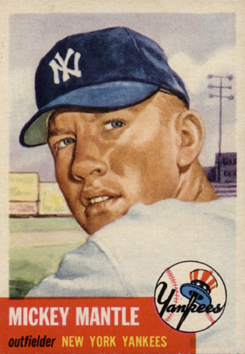 1953 Topps Mickey Mantle