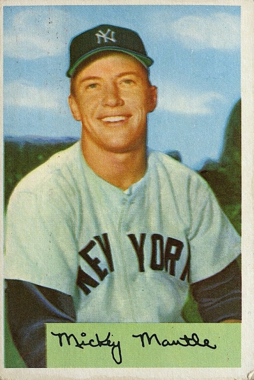 Mickey Mantle Baseball Cards Complete Visual Guide To The Micks Best