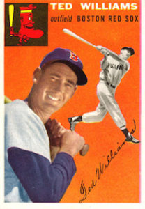 1954 Topps Ted Williams (#1)