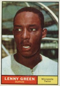 1961 Topps Lenny Green