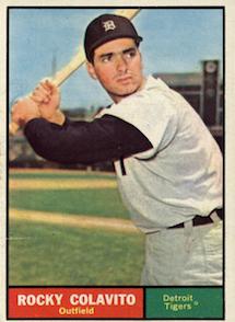 1961 Topps Rocky Colavito