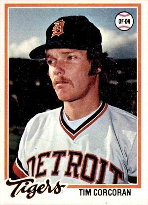 1978 Topps Tim Corcoran