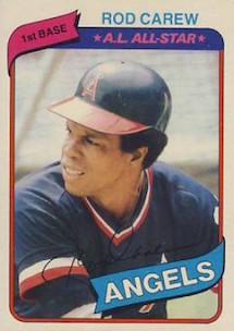 1980 Topps Rod Carew