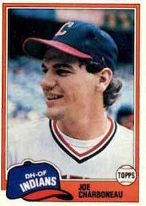 1981 Topps Joe Charboneau