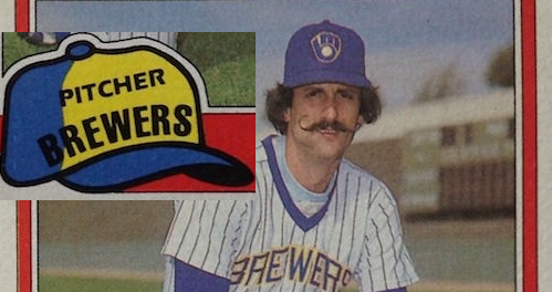 Which Hall of Famer Can Rollie Fingers Thank for His Most Iconic Baseball Card?