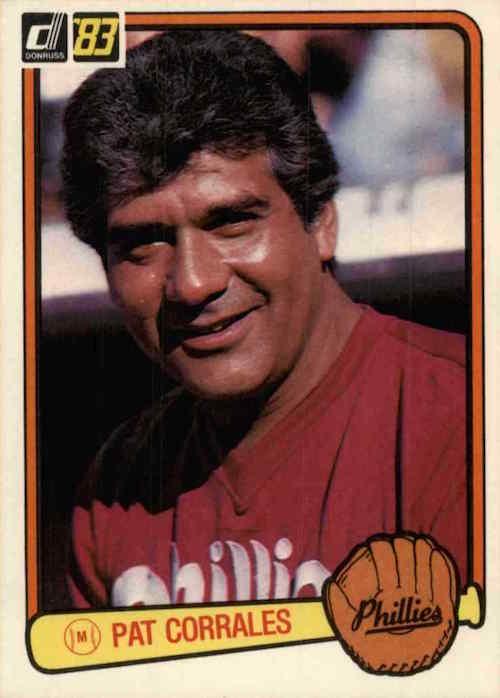 1983 Donruss Pat Corrales