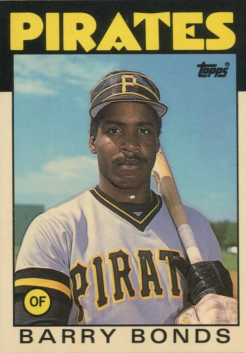 1986 Topps Traded Barry Bonds