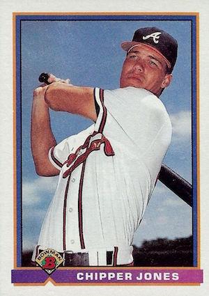 1991 Bowman Chipper Jones