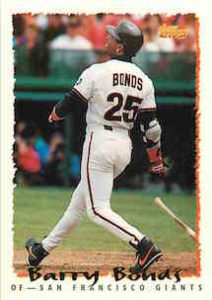 1994 Topps Barry Bonds