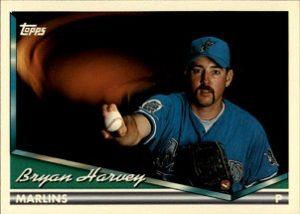 1994 Topps Bryan Harvey