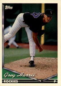 1994 Topps Greg Harris