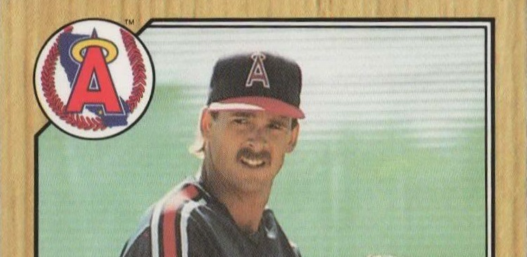 The Hairy Truth About The First Chuck Finley Topps Baseball