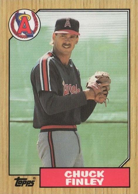 1987 Topps Chuck Finley