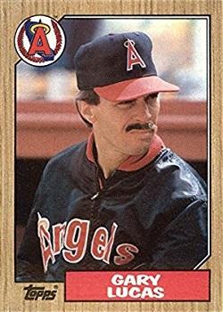 1987 Topps Gary Lucas