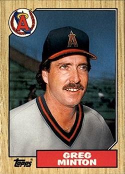 1987 Topps Traded Greg Minton