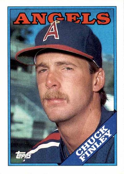 1988 Topps Chuck Finley