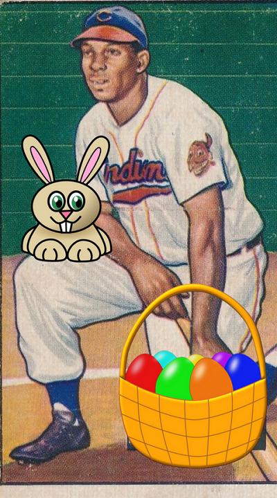1952 Bowman Luke Easter Bunny