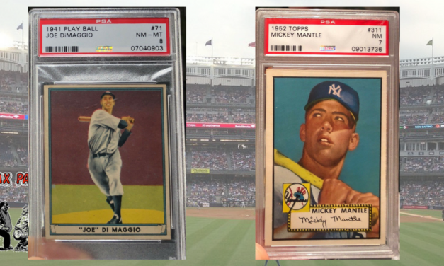 Flash Market Report — What Old Baseball Cards Sold Big this Week?  (5/27/2018)
