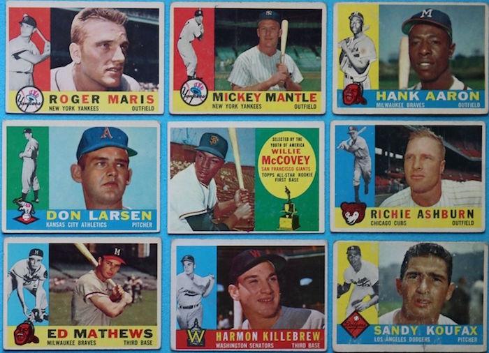 1960 Topps Baseball Complete Set