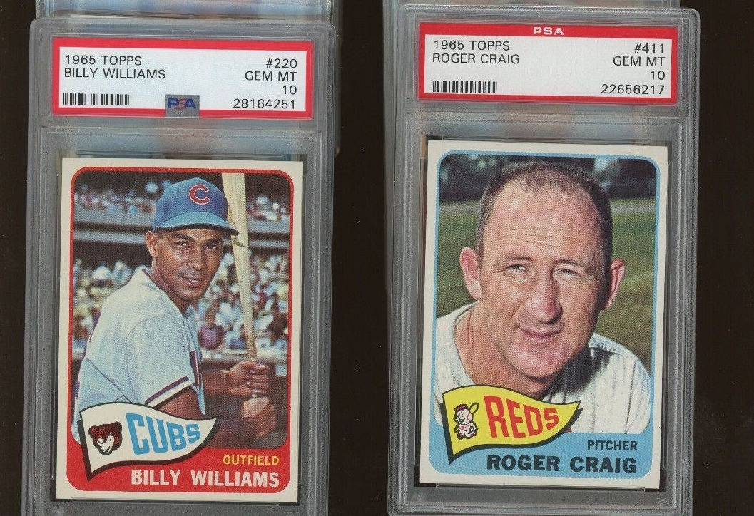 1965 Topps Low Population Lot of 16 PSA 10