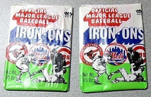 1968 Fleer Iron-Ons Wax Packs