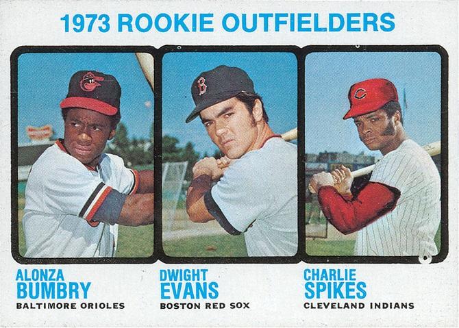 1973 Topps Dwight Evans Al Bumbry