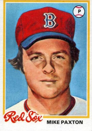 1978 Topps Mike Paxton