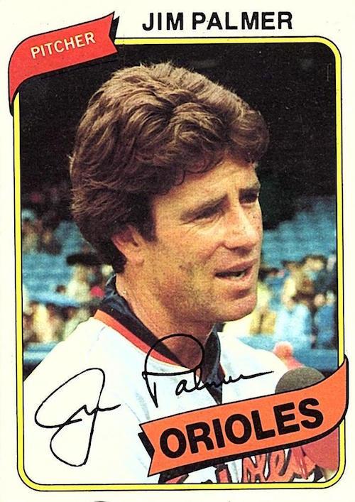 1980 Topps Jim Palmer