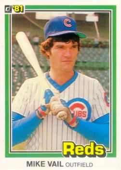 1981 Donruss Mike Vail